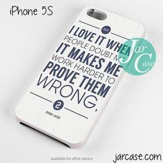 Derek Jeter Quote Phone case for iPhone 4/4s/5/5c/5s/6/6 plus