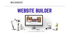 MCA Associates Website Builder | FREE MCA Associates Website Builder with Training Included. Website Builders, Accounting, Training, Free, Work Outs, Excercise, Onderwijs, Race Training, Exercise
