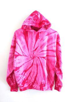 28c98d79a8d Cherry Blossom Tie-Dye Hoodie Tie Dye Sweatshirt