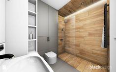 Łazienka męska, dla młodego singla - Mała średnia łazienka w bloku bez okna, styl nowoczesny - zdjęcie od black design