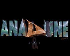 Anadune3 by Lazur Cool Text Art, Opera House, 8 Bit, Street Fighter, Typography, Image, Letterpress, Letterpress Printing, Opera