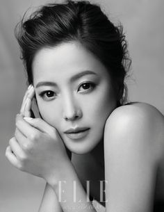 Kim Hee-sun // Elle Korea // March 2012