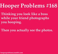 hooper problems.... White girl problems go farther than you think!