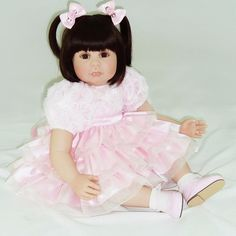 High-grade vinyl silicone reborn baby dolls accompany lifelike princess toddler doll kid cute christmas new year boutique gifts  http://playertronics.com/products/high-grade-vinyl-silicone-reborn-baby-dolls-accompany-lifelike-princess-toddler-doll-kid-cute-christmas-new-year-boutique-gifts/