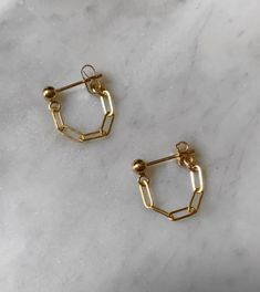 Chain Swag Posts | lushjewelry Chain Earrings, Gold Earrings, Personalized Jewelry, Handmade Jewelry, Minimal Jewelry, Gold Filled Jewelry, Gold Chains, Swag, Jewelry Design