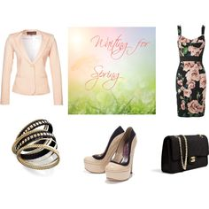 """""""Waiting for Spring"""" by teaandfashion on Polyvore"""
