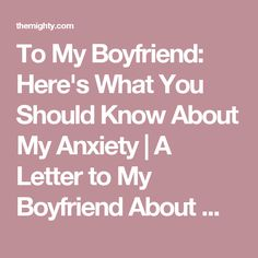 To my boyfriend here 39 s what you should know about my for What should i do for my boyfriends birthday