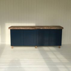 four door painted cabinet with oak or ash wood by sandman home and garden | notonthehighstreet.com