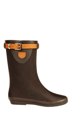 Weston Prep Mid Black/Saddle. Perfect for travel! Festival is a flexible and light weight waterproof boot, that can easily roll up to fit in your luggage or even carry-on. These boots are made from rubber and have a textured sole, also includes soft fabric lining and a cushioned insole.