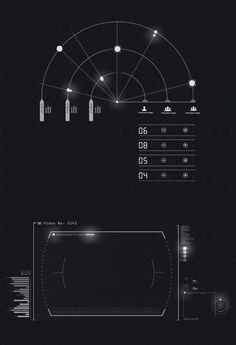 Quantum HUD | Infographic Pack on Behance