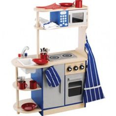 Wooden Deluxe Kitchen | Kids Toys | Kids Playsets | CPToy.com
