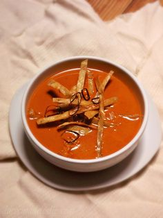 Cream of Ancho Chile Soup