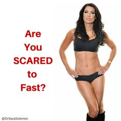 "I remember the first time I tried intermittent fasting. I was SCARED!   So I understand your initial reaction to the notion of fasting: ""Sara, I can't do that! I can't skip breakfast!!! I'll be hungry, I'll waste away, I'll be weak and I'll faint!""  In today's blog, I explain why eating every 2 to 3 hours is the reason why you are hungry, and why fasting may be the solution for you! http://www.drsarasolomon.com/scared-to-fast/"