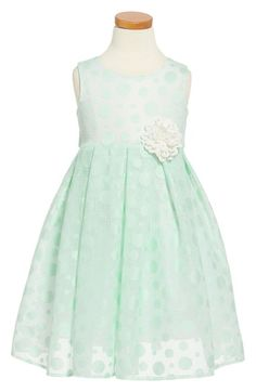 Dorissa 'Dotty' Sleeveless Dress (Toddler Girls & Little Girls) available at #Nordstrom