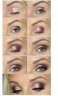 Eyes pink