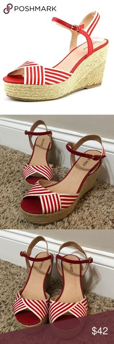 13 Best Striped Wedges images | Striped wedges, Folding