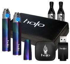 The Halo Triton Starter Kit (featured in the Iridescence color option).