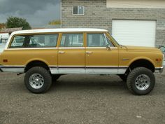 1972 Suburban - This is how I roll stateside....thankfully it's not this color anymore...