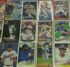 Texas Rangers 115+ Card Lot 1978-2016 Nolan Ryan Prince Fielder Pudge Elvis MLB #TexasRangers