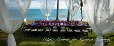 Wedding Planner: Odette Molinar. Venue: Martoca Beach Garden. Location: Riviera Nayarit. Bucerias, México.