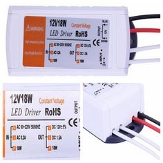 12 V 1.5A 18 W Alimentation AC/DC adaptateur transformateurs commutateur pour LED Bande RGB plafonnier ampoule pilote Alimentation 90 V-220 V