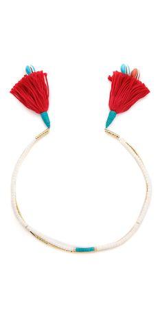 Aurelie Bidermann Tassel Necklace | SHOPBOP