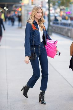 Victoria's Secret Fashion Show Fittings Street Style: See the Photos | Teen Vogue