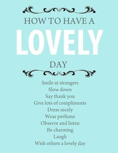 Good advice. This sounds like my mom