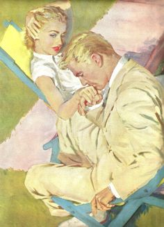 Coby whitmore vintage romance romance and vintage vintage magazine print short story art magazine illustration coby whitmore romantic art sciox Gallery