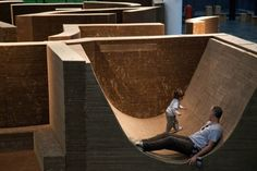 Gigantic Cardboard Labyrinth Made Entirely From Recycled Materials | Inhabitat - Sustainable Design Innovation, Eco Architecture, Green Building