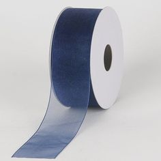Navy Sheer Organza Ribbon 1-1/2 inch 100 Yards ** Details can be found by clicking on the image.