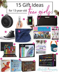 15 Gift Ideas For 13 Year Old Teen Girls Guide