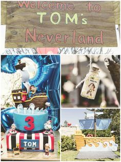 Jake and the Neverland Pirates Party via KarasPartyIdeas.com #PirateParty #JakeAndTheNeverlandPirates #NeverlandParty #PartyIdeas