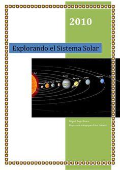 Sistema solar y los planetas para Educación Infantil by Miguel Ángel Bravo via slideshare
