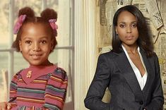 Chart the path to stardom of the woman behind Olive Pope in honor of her birthday. Shrimp Po Boy, Olivia Pope, Kerry Washington, For Stars, Scandal, American Actress, Journey, Actresses, Beautiful