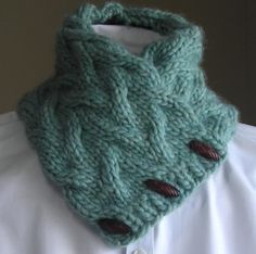 Sand Pond Neck Wrap and Cowl from Lavender Hill | Check out patterns on Craftsy!
