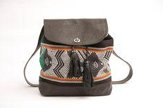 The Inca Backpack & shoulder bag// Made to order // by SABRINATACH, $165.00