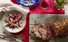 Grilled butterflied lamb with red currant, olive, and radish relish Lamb Recipes, Recipe Using, Grilling, Food And Drink, Beef, Vegetables, Meat, Crickets, Vegetable Recipes