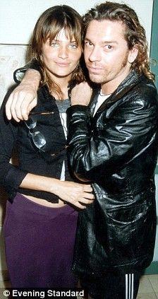 Helena Christensen and Michael Hutchence