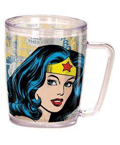 Look what I found on #zulily! Wonder Woman Coffee Cup #zulilyfinds