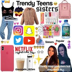 avocadoniches (@avocado_niches) • Instagram photos and videos Tween Fashion, Teen Fashion Outfits, Outfits For Teens, Cute Outfits, Girl Life Hacks, Girls Life, Aesthetic Memes, Aesthetic Clothes, Basic White Girl