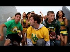 Supwitchugirl - I Love My Ducks (Return of the Quack) - okay this isn't your normal music video. It is a fan made music video. They made it for their favorite football team the Oregon Ducks. If you're a Ducks fan or not just watch it. It's an amazing video.