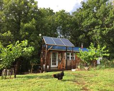 Building an Off the Grid Tiny House