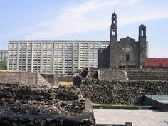 Visit the Plaza de las Tres Culturas