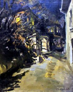 Konstantin Korovin - Night Sketch