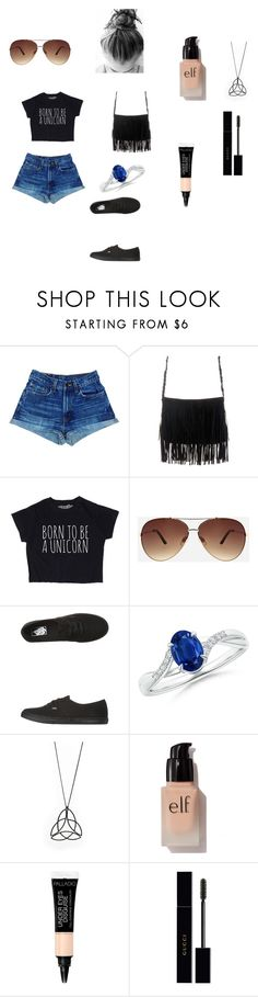 """""""Untitled #74"""" by elisenall on Polyvore featuring Ashley Stewart, Vans, e.l.f. and Gucci"""