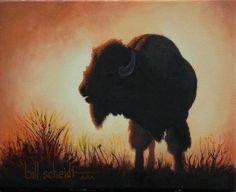 """Sunrise Sound""  oil on canvas      8"" x 10""              $450.00"