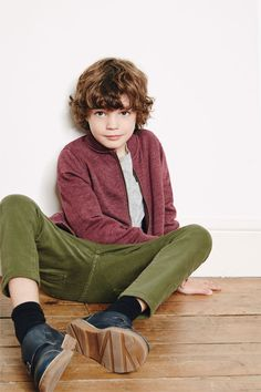 Image 1 of Zip sweatshirt from Zara Cute Boys, Kids Boys, Cool Kids, Boy Models, Child Models, Little Boy Fashion, Fashion Kids, Boys Long Hairstyles, Kid Styles