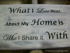 Primitive wood sign. DIY