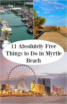 Taking a trip always sounds like a great idea...until the costs start to pile up. Use our list of 11 absolutely free things to do in Myrtle Beach for a budget-friendly vacation.
